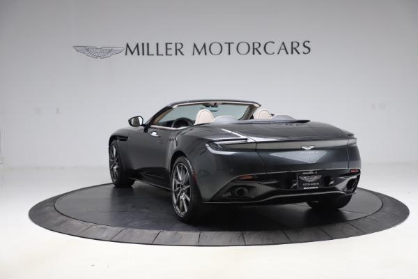 New 2021 Aston Martin DB11 Volante Convertible for sale $270,386 at Maserati of Greenwich in Greenwich CT 06830 4