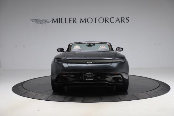 New 2021 Aston Martin DB11 Volante Convertible for sale $270,386 at Maserati of Greenwich in Greenwich CT 06830 5