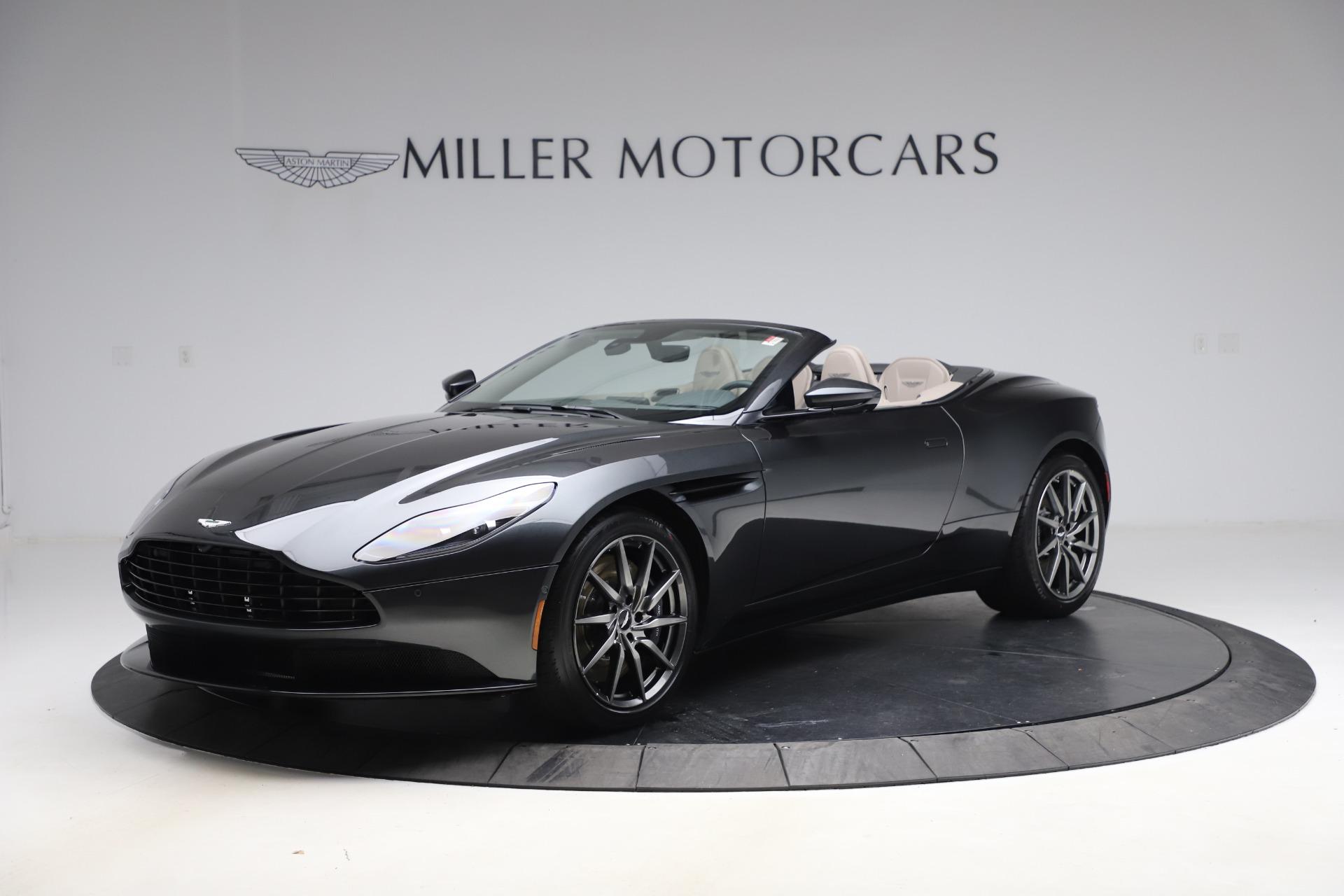 New 2021 Aston Martin DB11 Volante Convertible for sale $270,386 at Maserati of Greenwich in Greenwich CT 06830 1