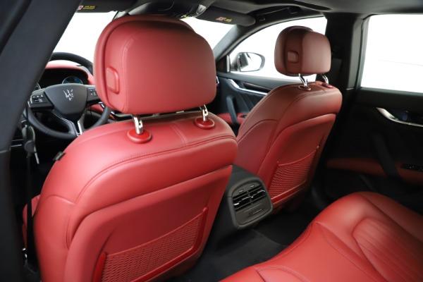 New 2021 Maserati Ghibli S Q4 GranLusso for sale $95,835 at Maserati of Greenwich in Greenwich CT 06830 21