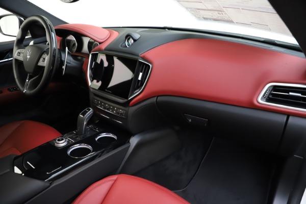 New 2021 Maserati Ghibli S Q4 GranLusso for sale $95,835 at Maserati of Greenwich in Greenwich CT 06830 24