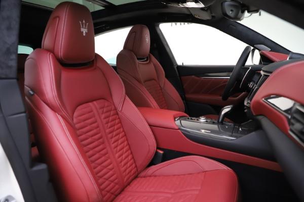 New 2021 Maserati Levante GTS for sale $140,585 at Maserati of Greenwich in Greenwich CT 06830 21