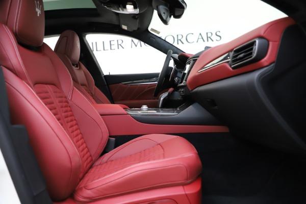 New 2021 Maserati Levante GTS for sale $140,585 at Maserati of Greenwich in Greenwich CT 06830 22