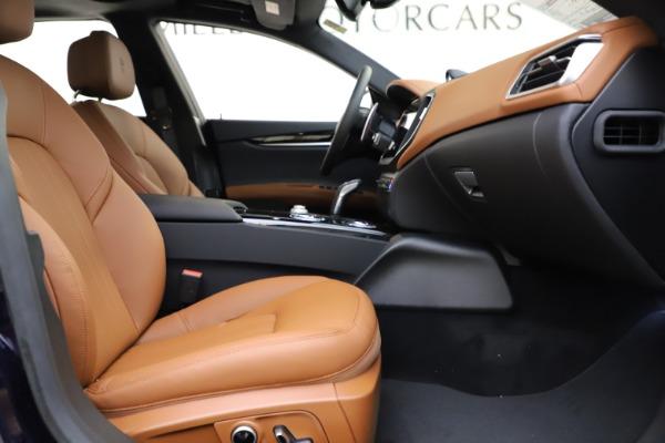 New 2021 Maserati Ghibli S Q4 for sale $90,925 at Maserati of Greenwich in Greenwich CT 06830 21