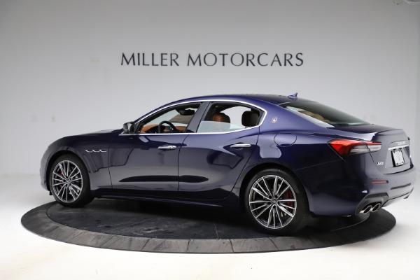 New 2021 Maserati Ghibli S Q4 for sale $90,925 at Maserati of Greenwich in Greenwich CT 06830 4