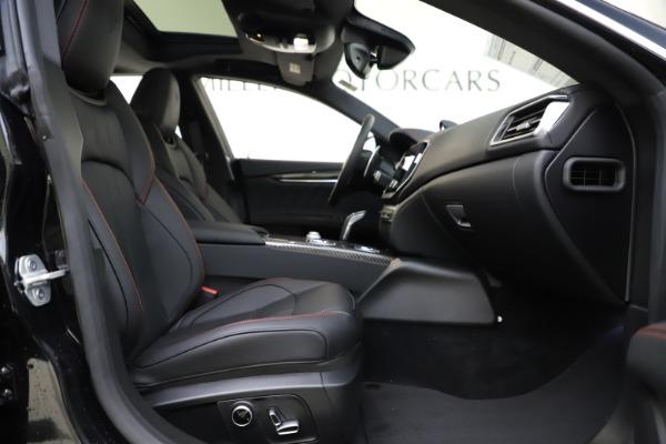 New 2021 Maserati Ghibli S Q4 GranSport for sale $98,035 at Maserati of Greenwich in Greenwich CT 06830 24
