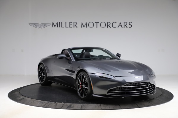 New 2021 Aston Martin Vantage Roadster Convertible for sale $178,186 at Maserati of Greenwich in Greenwich CT 06830 10