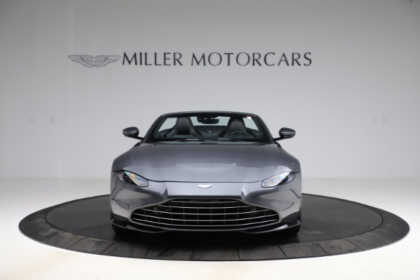 New 2021 Aston Martin Vantage Roadster Convertible for sale $178,186 at Maserati of Greenwich in Greenwich CT 06830 11