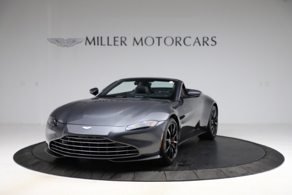 New 2021 Aston Martin Vantage Roadster Convertible for sale $178,186 at Maserati of Greenwich in Greenwich CT 06830 12