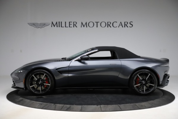 New 2021 Aston Martin Vantage Roadster Convertible for sale $178,186 at Maserati of Greenwich in Greenwich CT 06830 13