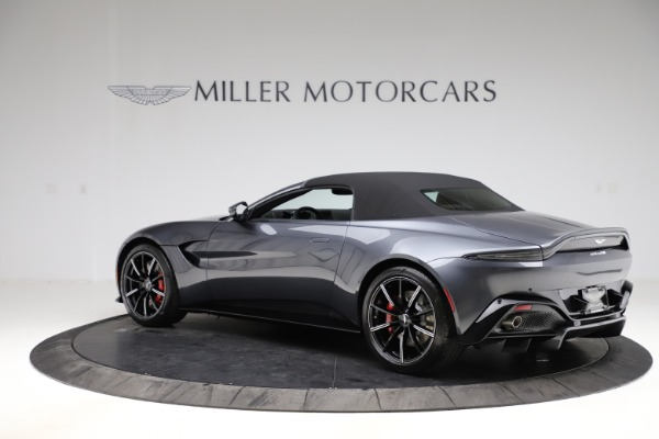 New 2021 Aston Martin Vantage Roadster Convertible for sale $178,186 at Maserati of Greenwich in Greenwich CT 06830 14