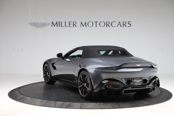 New 2021 Aston Martin Vantage Roadster Convertible for sale $178,186 at Maserati of Greenwich in Greenwich CT 06830 15