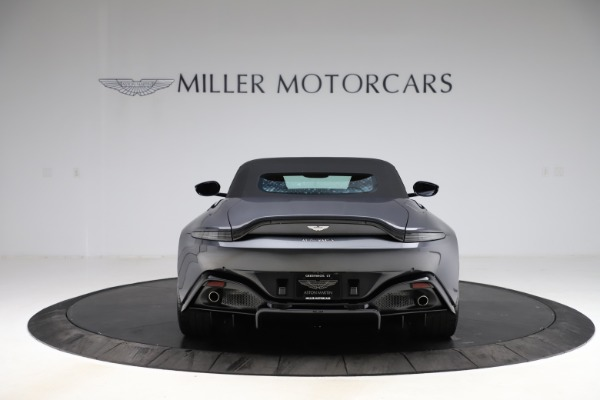 New 2021 Aston Martin Vantage Roadster Convertible for sale $178,186 at Maserati of Greenwich in Greenwich CT 06830 16
