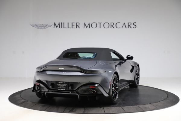 New 2021 Aston Martin Vantage Roadster Convertible for sale $178,186 at Maserati of Greenwich in Greenwich CT 06830 17