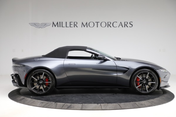 New 2021 Aston Martin Vantage Roadster Convertible for sale $178,186 at Maserati of Greenwich in Greenwich CT 06830 19