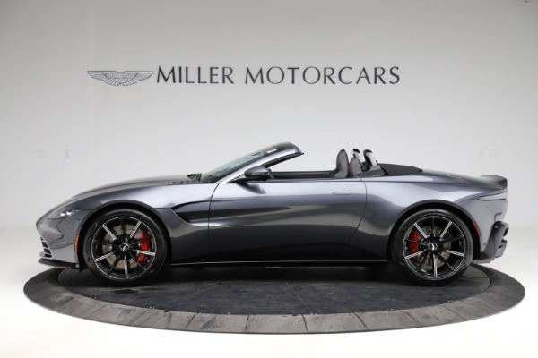 New 2021 Aston Martin Vantage Roadster Convertible for sale $178,186 at Maserati of Greenwich in Greenwich CT 06830 2