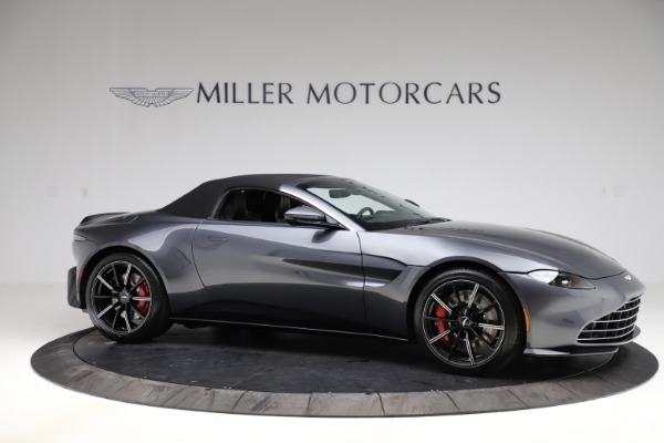 New 2021 Aston Martin Vantage Roadster Convertible for sale $178,186 at Maserati of Greenwich in Greenwich CT 06830 20