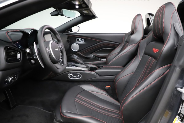 New 2021 Aston Martin Vantage Roadster Convertible for sale $178,186 at Maserati of Greenwich in Greenwich CT 06830 21