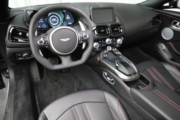 New 2021 Aston Martin Vantage Roadster Convertible for sale $178,186 at Maserati of Greenwich in Greenwich CT 06830 22