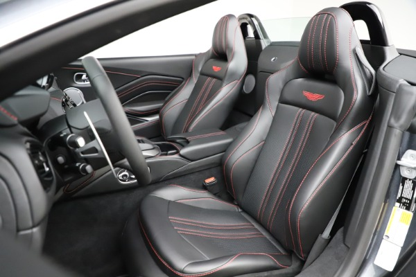New 2021 Aston Martin Vantage Roadster Convertible for sale $178,186 at Maserati of Greenwich in Greenwich CT 06830 23