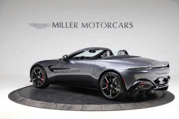 New 2021 Aston Martin Vantage Roadster Convertible for sale $178,186 at Maserati of Greenwich in Greenwich CT 06830 3