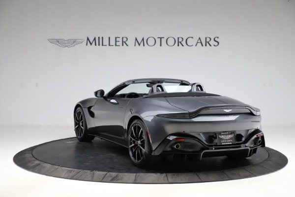 New 2021 Aston Martin Vantage Roadster Convertible for sale $178,186 at Maserati of Greenwich in Greenwich CT 06830 4