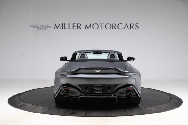 New 2021 Aston Martin Vantage Roadster Convertible for sale $178,186 at Maserati of Greenwich in Greenwich CT 06830 5