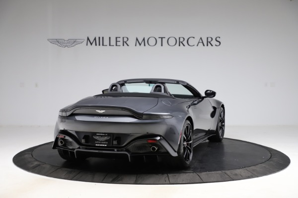 New 2021 Aston Martin Vantage Roadster Convertible for sale $178,186 at Maserati of Greenwich in Greenwich CT 06830 6