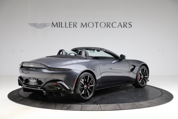 New 2021 Aston Martin Vantage Roadster Convertible for sale $178,186 at Maserati of Greenwich in Greenwich CT 06830 7