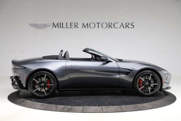 New 2021 Aston Martin Vantage Roadster Convertible for sale $178,186 at Maserati of Greenwich in Greenwich CT 06830 8