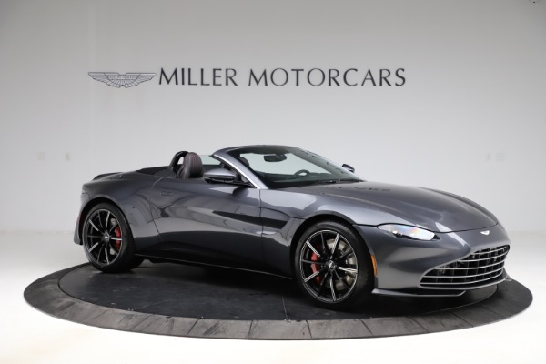 New 2021 Aston Martin Vantage Roadster Convertible for sale $178,186 at Maserati of Greenwich in Greenwich CT 06830 9
