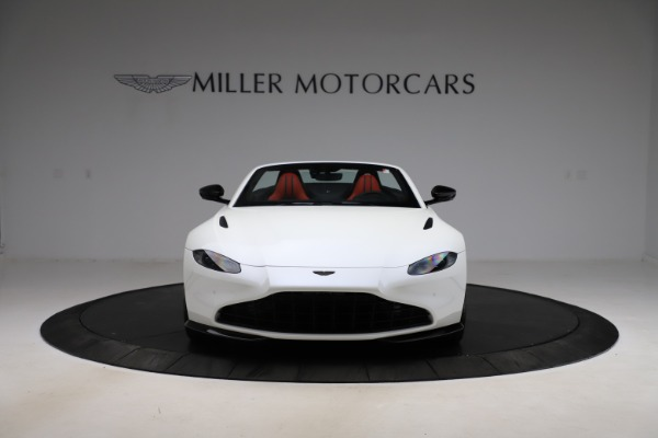 New 2021 Aston Martin Vantage Roadster Convertible for sale $189,186 at Maserati of Greenwich in Greenwich CT 06830 11