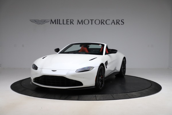 New 2021 Aston Martin Vantage Roadster Convertible for sale $189,186 at Maserati of Greenwich in Greenwich CT 06830 12