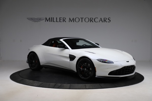 New 2021 Aston Martin Vantage Roadster Convertible for sale $189,186 at Maserati of Greenwich in Greenwich CT 06830 26