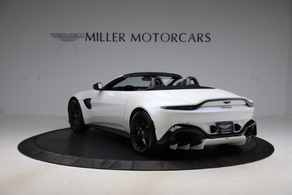 New 2021 Aston Martin Vantage Roadster Convertible for sale $189,186 at Maserati of Greenwich in Greenwich CT 06830 4