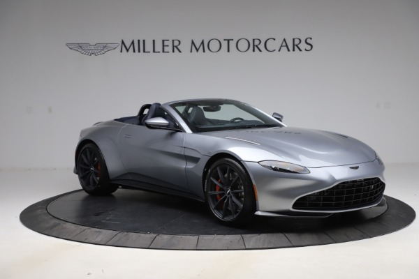 New 2021 Aston Martin Vantage Roadster Convertible for sale Sold at Maserati of Greenwich in Greenwich CT 06830 10