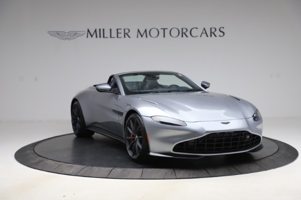 New 2021 Aston Martin Vantage Roadster Convertible for sale Sold at Maserati of Greenwich in Greenwich CT 06830 11