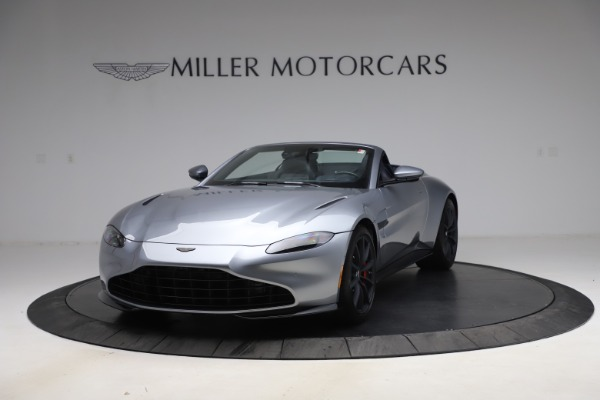 New 2021 Aston Martin Vantage Roadster Convertible for sale Sold at Maserati of Greenwich in Greenwich CT 06830 13