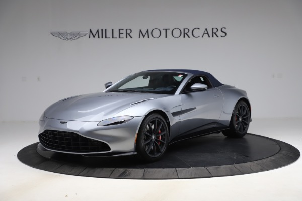 New 2021 Aston Martin Vantage Roadster Convertible for sale Sold at Maserati of Greenwich in Greenwich CT 06830 15