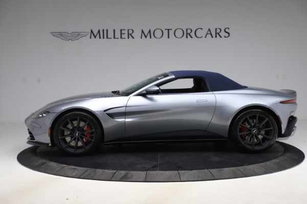 New 2021 Aston Martin Vantage Roadster Convertible for sale Sold at Maserati of Greenwich in Greenwich CT 06830 16