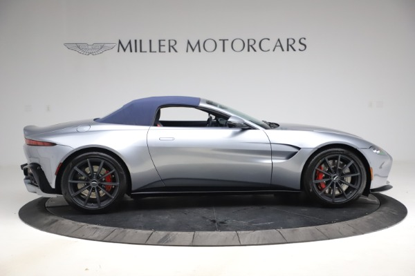 New 2021 Aston Martin Vantage Roadster Convertible for sale Sold at Maserati of Greenwich in Greenwich CT 06830 17