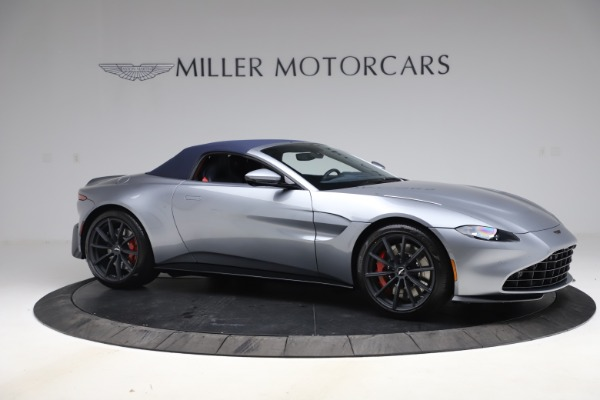 New 2021 Aston Martin Vantage Roadster Convertible for sale Sold at Maserati of Greenwich in Greenwich CT 06830 18