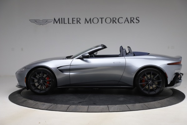 New 2021 Aston Martin Vantage Roadster Convertible for sale Sold at Maserati of Greenwich in Greenwich CT 06830 2