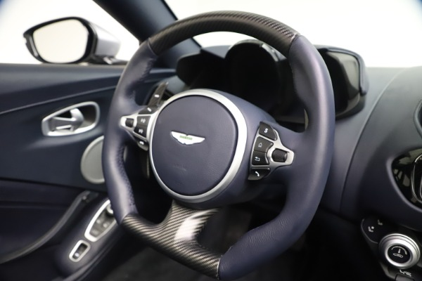 New 2021 Aston Martin Vantage Roadster Convertible for sale Sold at Maserati of Greenwich in Greenwich CT 06830 26
