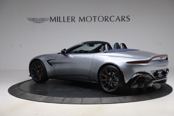 New 2021 Aston Martin Vantage Roadster Convertible for sale Sold at Maserati of Greenwich in Greenwich CT 06830 3