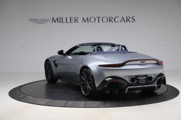 New 2021 Aston Martin Vantage Roadster Convertible for sale Sold at Maserati of Greenwich in Greenwich CT 06830 4