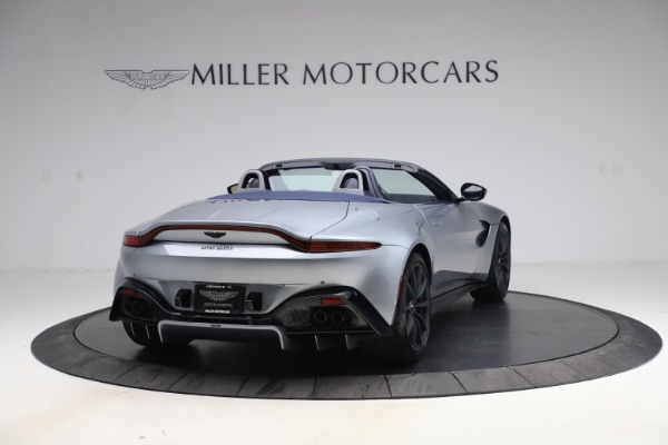 New 2021 Aston Martin Vantage Roadster Convertible for sale Sold at Maserati of Greenwich in Greenwich CT 06830 6