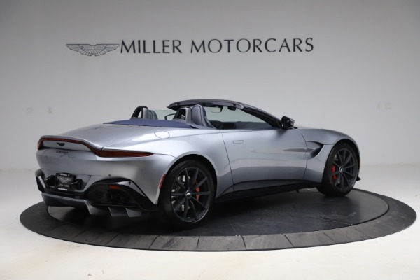New 2021 Aston Martin Vantage Roadster Convertible for sale Sold at Maserati of Greenwich in Greenwich CT 06830 7