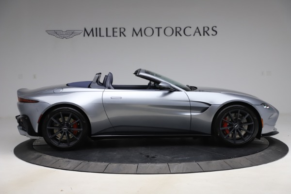 New 2021 Aston Martin Vantage Roadster Convertible for sale Sold at Maserati of Greenwich in Greenwich CT 06830 8