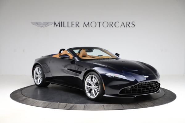 New 2021 Aston Martin Vantage Roadster Convertible for sale $205,686 at Maserati of Greenwich in Greenwich CT 06830 10